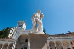 Staty av århundradet 16 hercules staty Royaltyfri Foto
