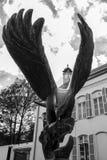 Staty av örnen Royaltyfri Fotografi