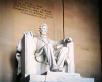 Staty av Abraham Lincoln Royaltyfria Bilder
