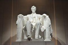 Staty av Abraham Lincoln fotografering för bildbyråer