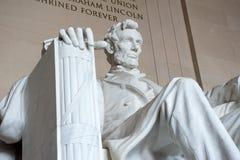 Staty av Abraham Lincoln, Lincoln Memorial Royaltyfria Bilder