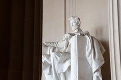 Staty av Abraham Lincoln, Lincoln Memorial Royaltyfri Bild