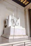 Staty av Abraham Lincoln på Fotografering för Bildbyråer