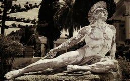 Staty av Achilles Arkivbild