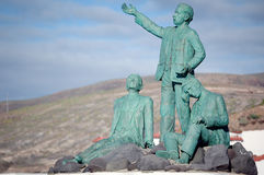 Staty av Alonso Quesada Royaltyfri Fotografi