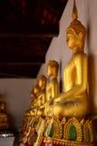 Staty av att sitta buddha Royaltyfria Bilder