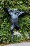 Staty av banhoppningdirektören Sergei Parajanov, Tbilisi Arkivbilder