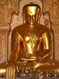 Staty av Bhudda, Bagan, Myanmar Arkivbilder