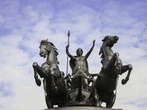 Staty av Boadicea Royaltyfri Bild