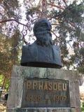 Staty av Bogdan Petriceicu Hasdeu royaltyfri foto