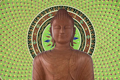 Staty av Buddha Royaltyfri Fotografi