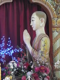Staty av buddha royaltyfria foton
