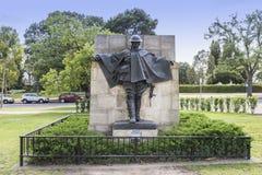 Staty av 'chauffören', Royaltyfri Fotografi
