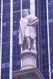 Staty av Christopher Columbus, New York, NY Royaltyfri Bild