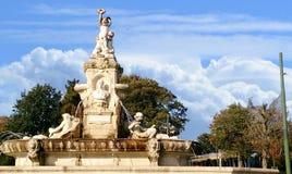 Staty av Debrukere mayren Fotografering för Bildbyråer