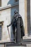 Staty av den amerikanska presidenten George Washington i London Royaltyfri Foto