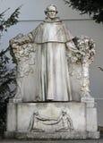 Staty av den berömda forskaren Gregor Johann Mendel för värld arkivfoton