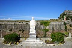 Staty av den brittiska överkommissarien royaltyfria bilder
