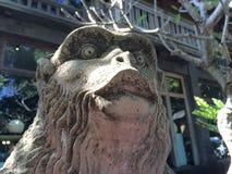Staty av den hinduiska apaguden, Ubud, centrala Bali, Indonesien Royaltyfri Fotografi
