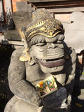 Staty av den hinduiska apaguden, Ubud, centrala Bali, Indonesien Royaltyfria Bilder