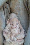 Staty av den hinduiska guden Ganesha Royaltyfri Fotografi
