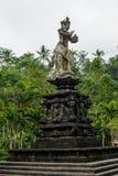 Staty av den hinduiska guden i Bali Arkivfoton