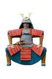Staty av den kinesiska krigaren. Arkivfoto