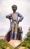 Staty av den lilla prinsen, KIEV, UKRAINA Arkivbilder