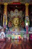 Staty av den Maitreya Buddha royaltyfria foton