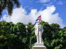 Staty av den nationella hjälten Jose Marti arkivfoton