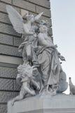 Staty av den Odessa operateatern Arkivfoto