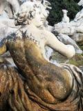Staty av Diana i Caserta Arkivfoton