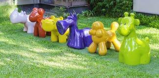 Staty av djur Royaltyfri Fotografi