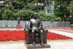Staty av Dr. Sun, Ännu-Sen Arkivfoto