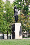 Staty av Eduardo Frei Montalva, Santiago de Chile, Chile Fotografering för Bildbyråer