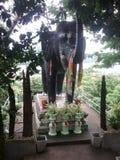 Staty av elefanten royaltyfria foton