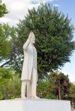 Staty av Eleftherios Venizelos, Thessaloniki, Grekland Arkivbilder