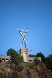 Staty av elektricitet Fotografering för Bildbyråer