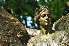 Staty av en ängel Arkivfoton