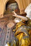 Staty av en ängel Royaltyfri Bild
