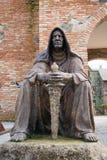 Staty av en bödel Fotografering för Bildbyråer