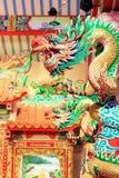 Staty av en drake Royaltyfri Bild