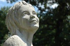 Staty av en kvinna Royaltyfri Bild