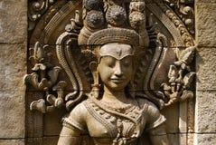 Staty av en kvinna Arkivbild