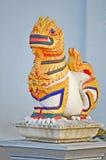 Staty av en lion Royaltyfria Bilder