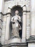 Staty av en musa Fotografering för Bildbyråer