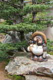 Staty av en tanuki - Kyoto - Japan Royaltyfri Bild