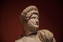 Staty av en ung romersk krigare, Antalya, Turkiet Royaltyfria Bilder