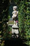 Staty av ett barn Arkivfoton