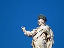Staty av Förlossare arkivfoto